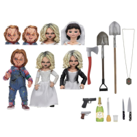 Bride of Chucky: Chucky & Tiffany Ultimate Action Figure Set